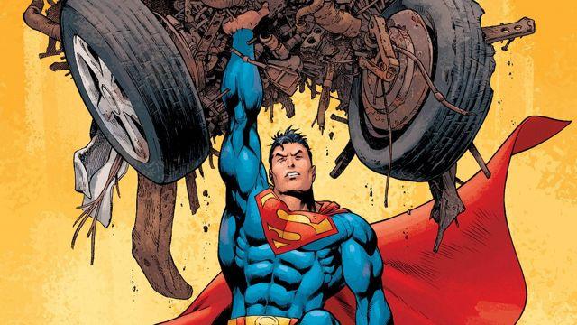 スーパーマンの体